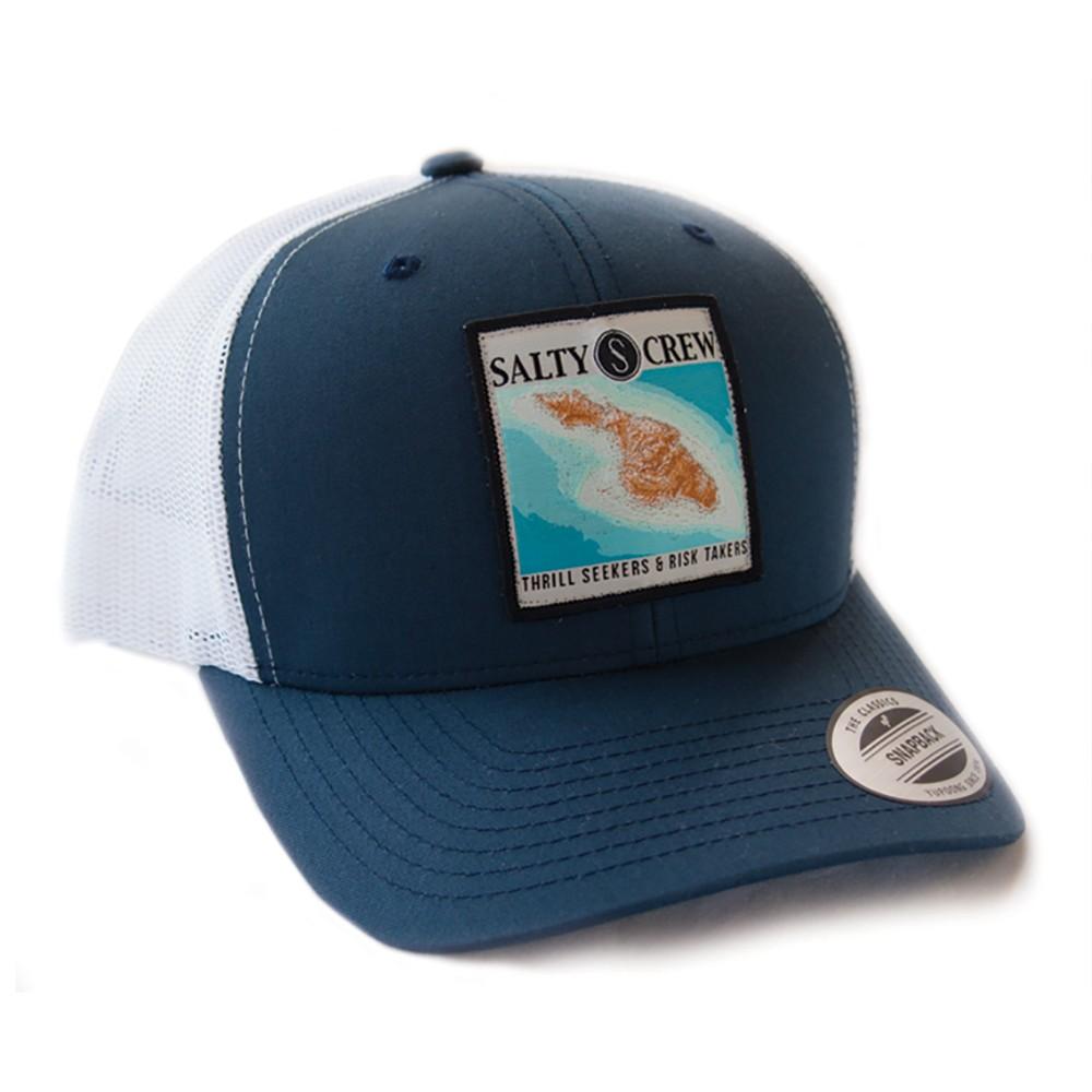 e225f897847 Catalina Salty Crew Cap - Navy and White - Hats - Men