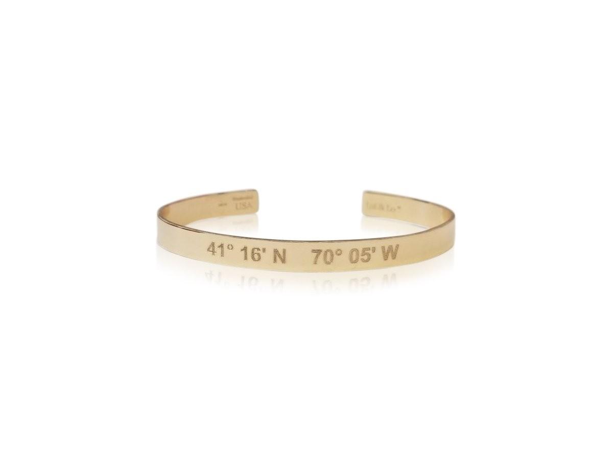 Catalina Lat Lo Cuff 14k Bracelet