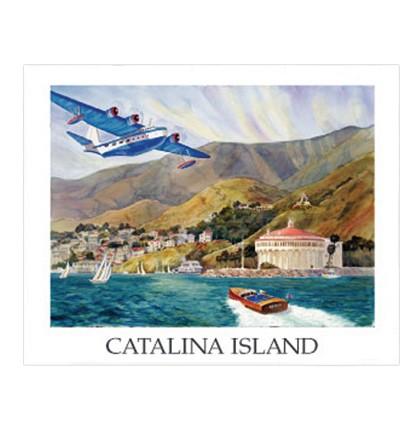 VS44 Flying Boat Poster