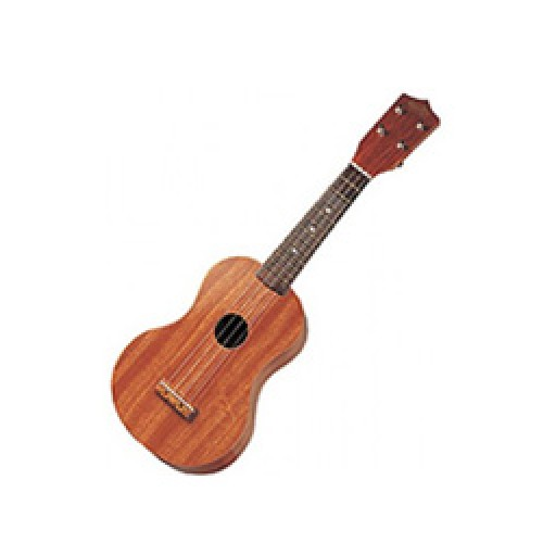 Natural Wood Ukulele 21""