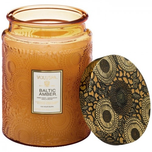 Glass Jar Candle - Baltic Amber