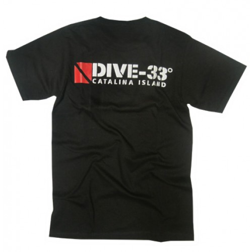 Dive 33 T-Shirt - Back