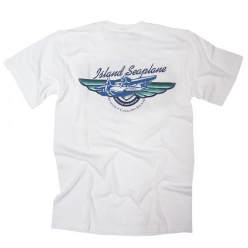 Island Seaplane Service and Repair T-Shirt (Back)