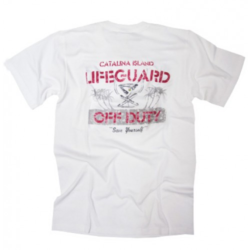 Catalina Lifeguard Off Duty T-Shirt (back)