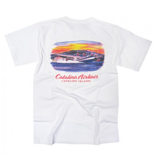 Catalina Airlines T-Shirt (back)