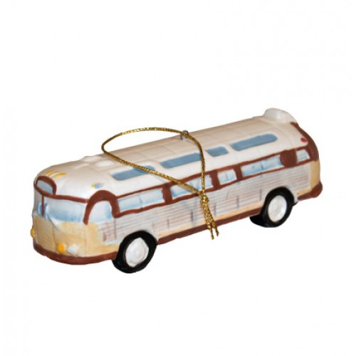 Vintage Tour Bus Christmas Tree Decoration