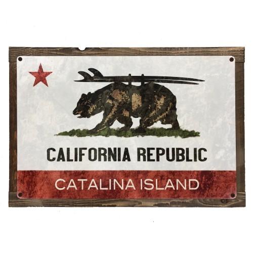 California Republic Catalina Island Sign