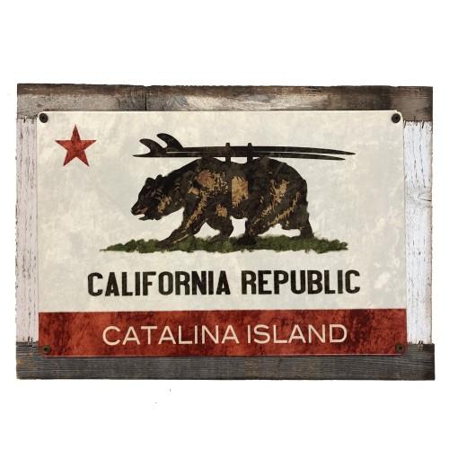 California Republic Sign - Catalina Island