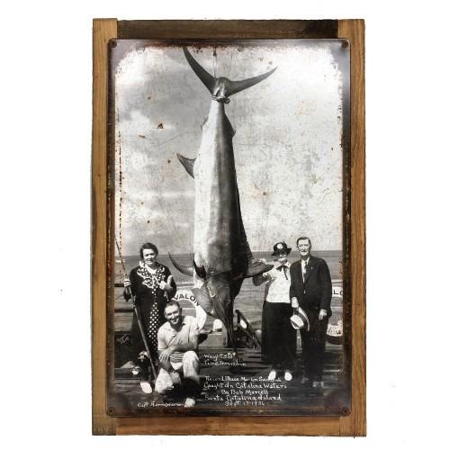 Vintage Sign Marlin