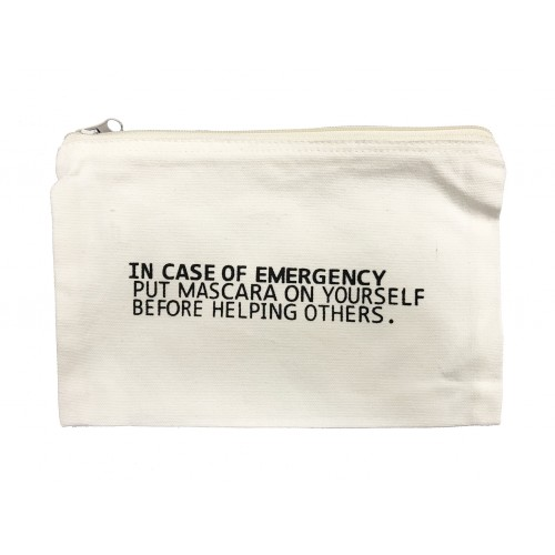 In Case of Emergency... Cosmetic Case