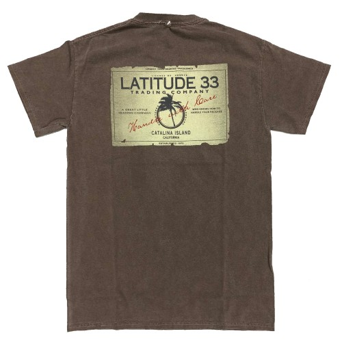 Latitude 33 Trading Co. T-Shirt - Brown
