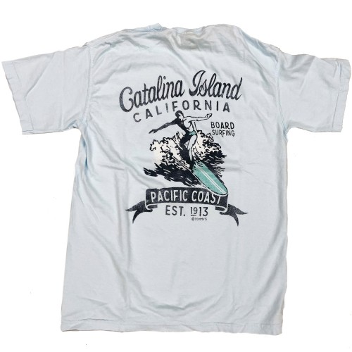 Surfer Catalina Island T-Shirt