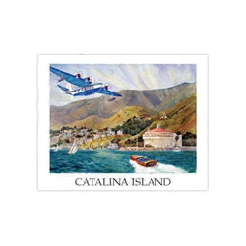 VS44 Flying Boat Poster