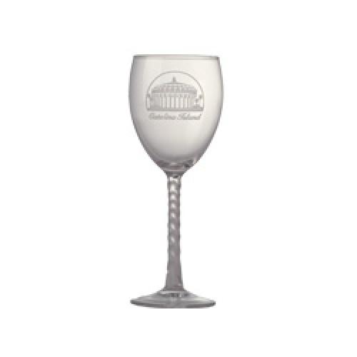 Casino Wine Glass