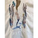 Catalina Mermaid Shirt - Beige - Back