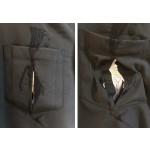 Catalina Mermaid Shirt - Black - Pocket